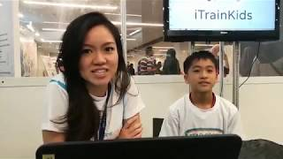 LIVE! Interview with iTrainKids Star Coder!